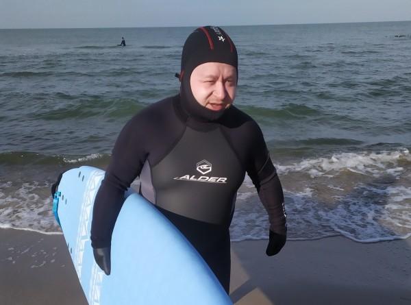 «Такая разная русская зима»: ветреный Калининград