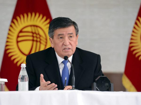 Жээнбеков: Готов работать с любой партией, победившей на выборах в парламент