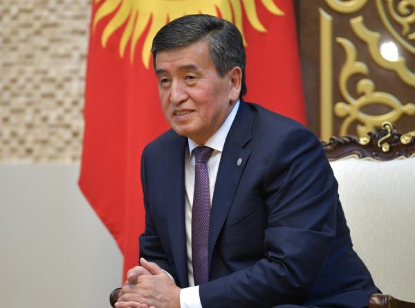 Жээнбеков призвал депутатов не забывать о своих обязанностях