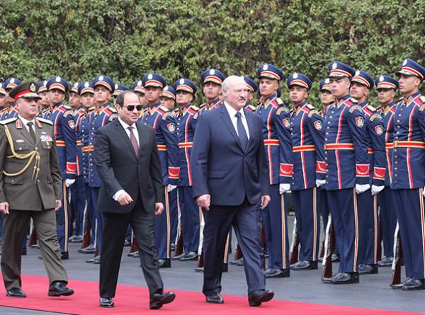 Египетское турне Александра Лукашенко