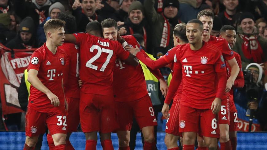 «Бавария» обыграла «Челси» в первом матче 1/8 финала Лиги чемпионов