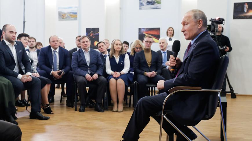 Путин: Лучшие практики цифровизации вузов нужно распространять по всей стране