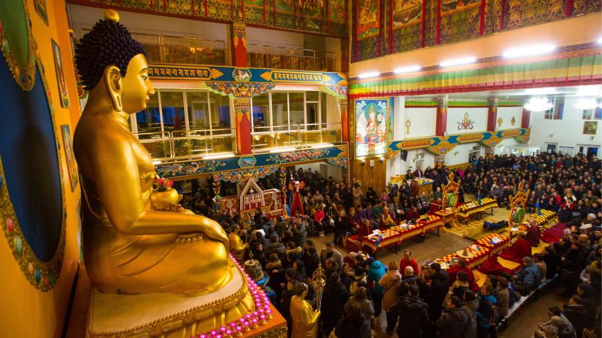 Путин поздравил буддистов с Новым годом по лунному календарю