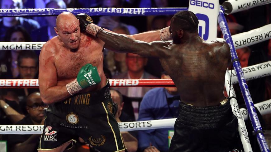 Фьюри отобрал у Уайлдера титул чемпиона мира по версии WBC