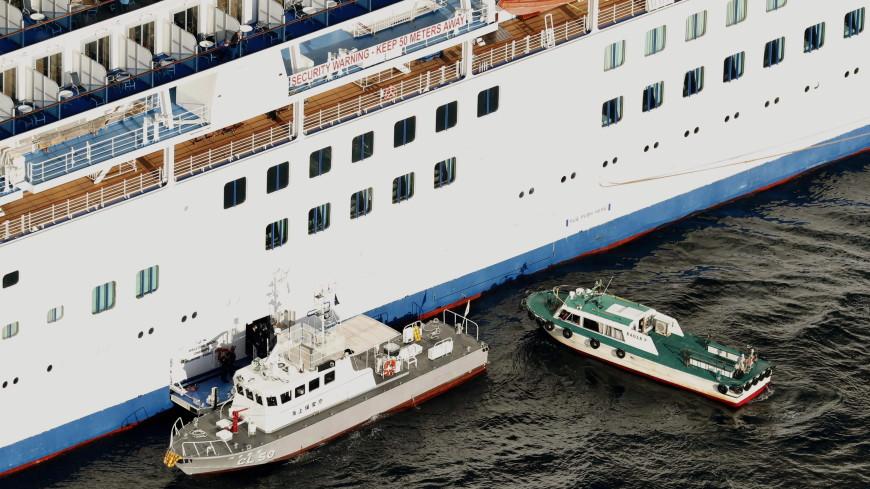 Около 500 туристов покинут судно Diamond Princess в Японии