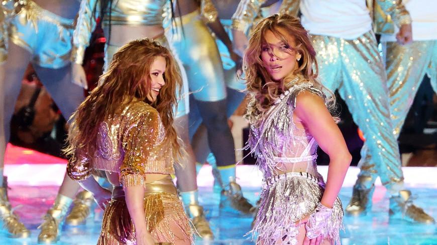 Шакира и Джей Ло покорили танцами и песнями Супербоул