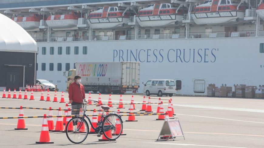 На лайнере Diamond Princess число заболевших коронавирусом растет каждый день