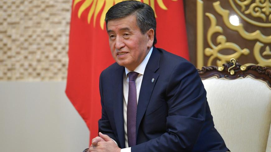 политика, власть, Сооронбай Шарипович Жээнбеков, Президент Киргизии