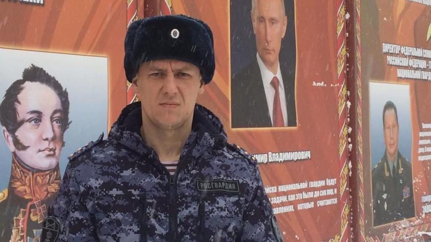 Пермский росгвардеец спас двух детей, провалившихся под лед