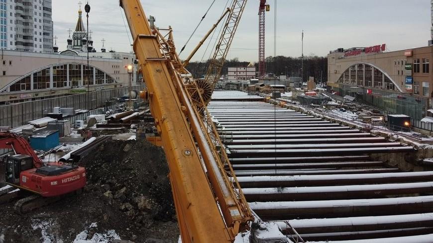 Из-за строительства БКЛ в Москве изменится схема движения общественного транспорта