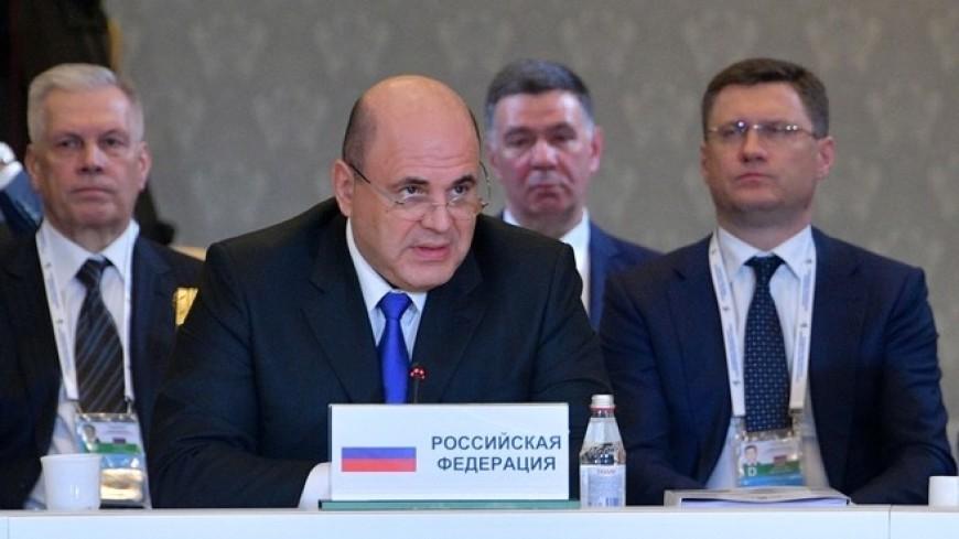 Мишустин прибыл в Нур-Султан на переговоры с руководством Казахстана