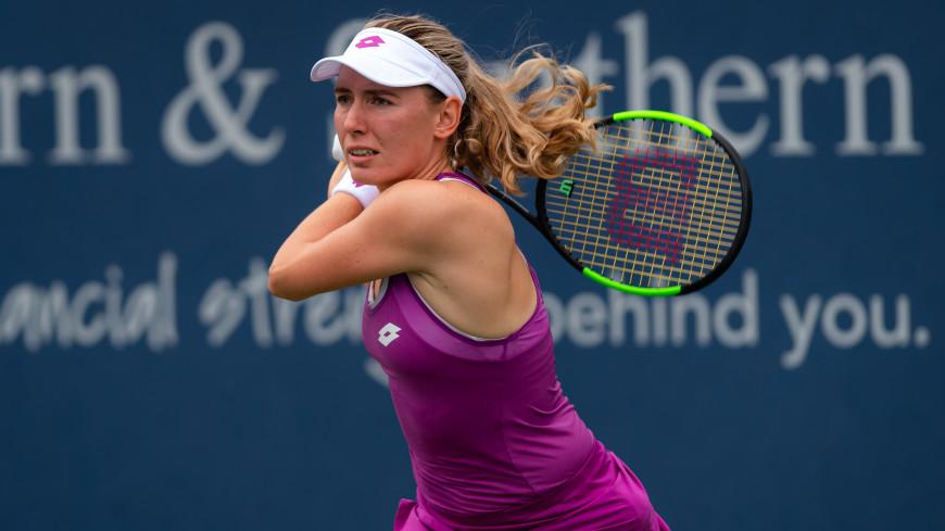Теннисистка Александрова выиграла турнир WTA в Китае