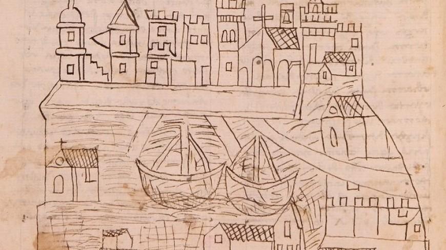 Самое раннее изображение Венеции нашли в рукописи паломника XIV века