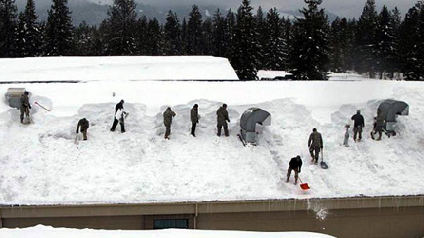 Северо-запад США завалило снегом