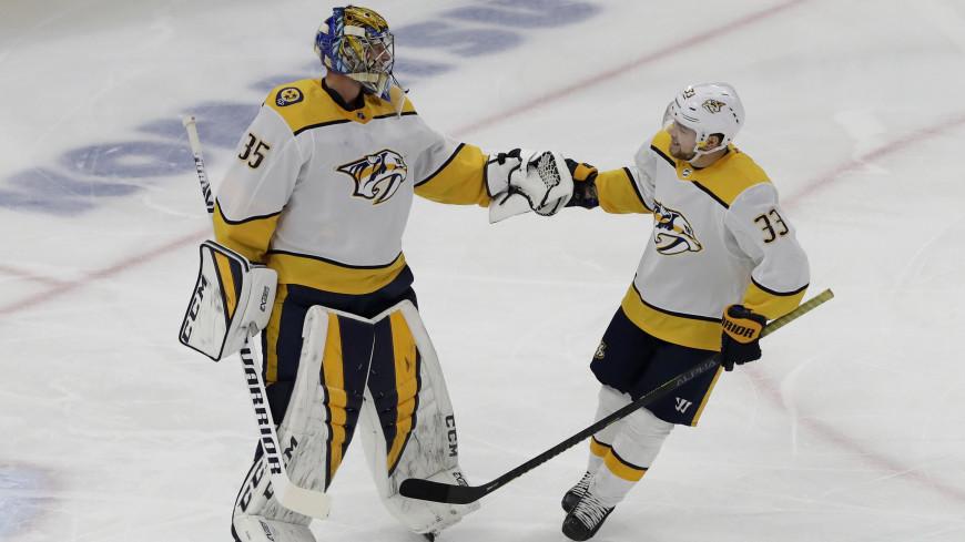 Голкипер поразил ворота соперника в матче НХЛ впервые за шесть лет