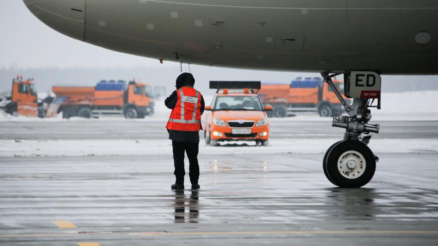 аэропорт, домодедово, самолет, техника аэропорта, служба аэропорта