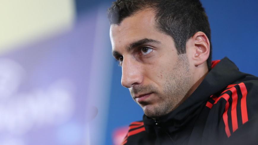 Генрих Мхитарян в девятый раз назван футболистом года в Армении