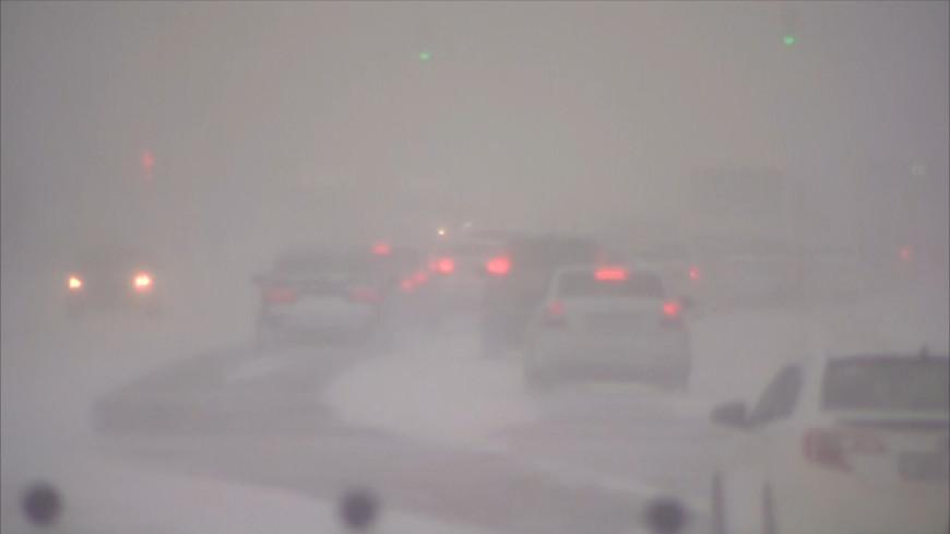 Метель в Казахстане: из-за снегопада закрыли школы и перекрыли дороги
