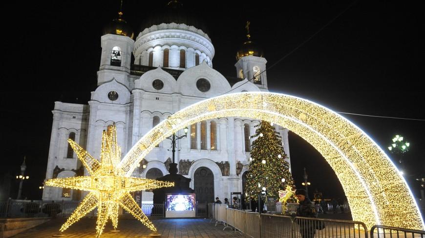 Ночь на Рождество в Москве оказалась одной из самых теплых за 20 лет