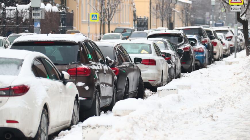 Парковки на 80 московских улицах станут платными