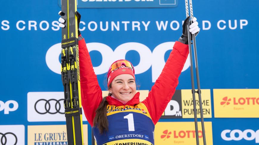 Российская лыжница Непряева одержала победу в спринте на этапе Кубка мира