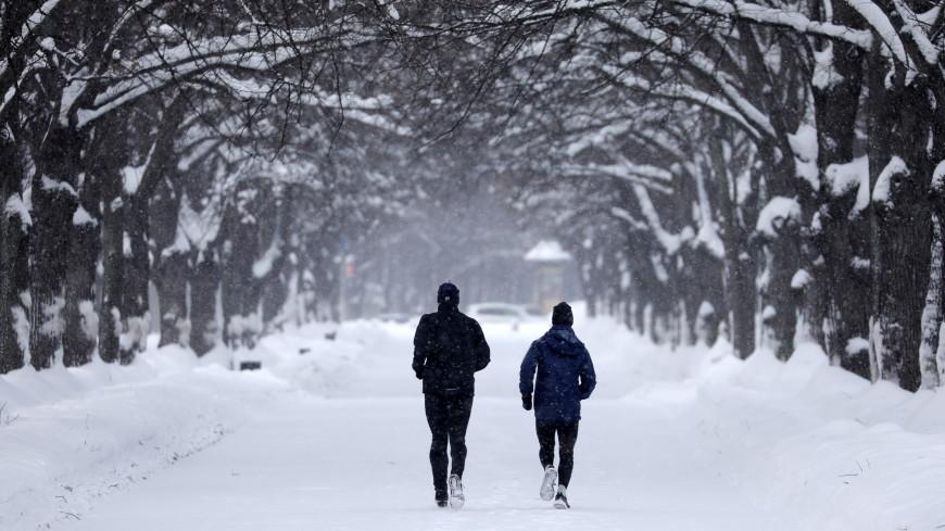 Все в парк: зимние пробежки помогут избавиться от депрессии