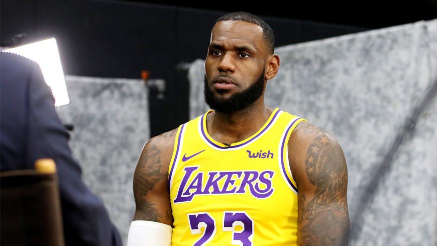 Баскетболист «Лейкерс» Джеймс пообещал продолжить дело Брайанта