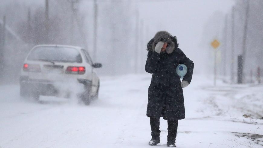 Зима разбушевалась: из-за метелей в Казахстане и на Алтае закрыли трассы
