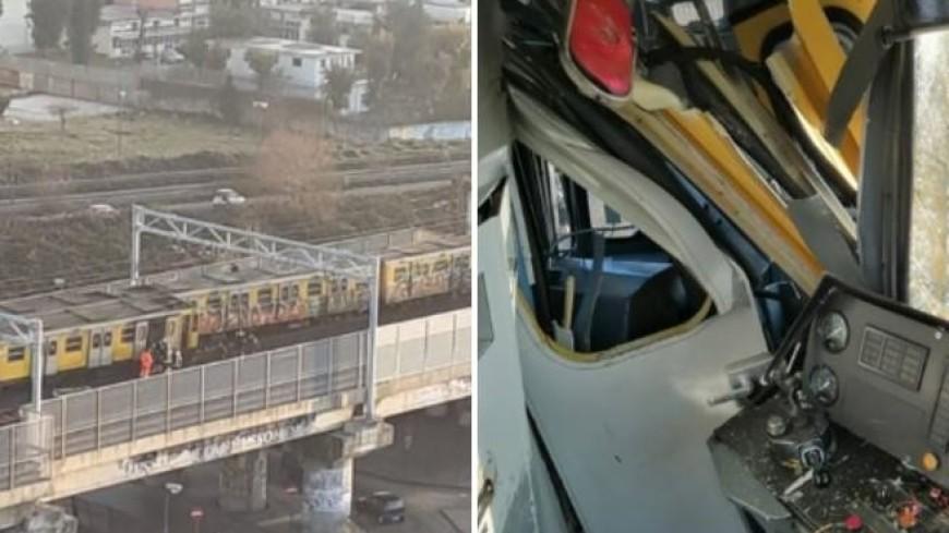 В итальянском метро столкнулись сразу три поезда