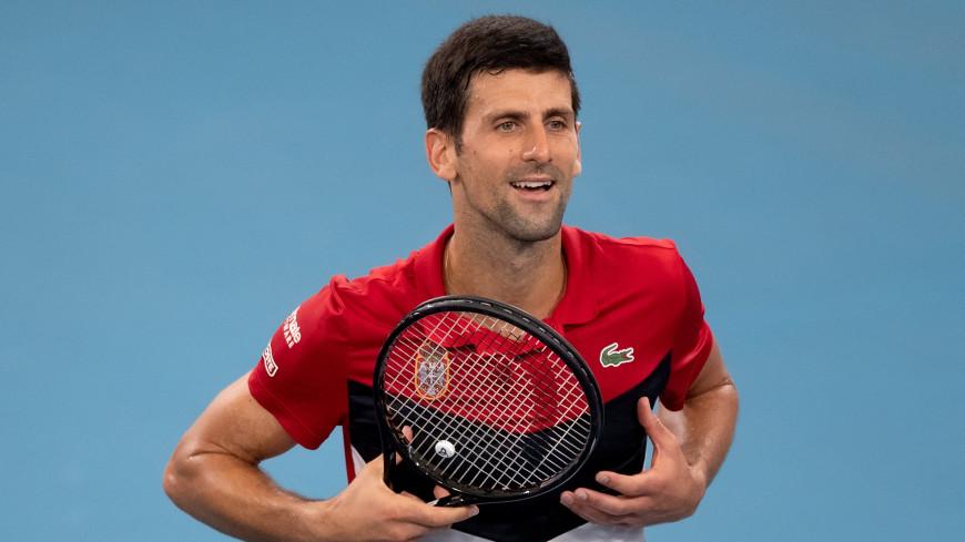 Теннисист Джокович одолел Надаля и сравнял счет в финале ATP Cup
