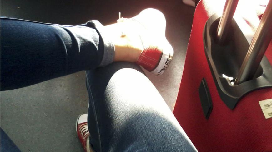 "Фото: Елена Андреева, ""«Мир24»"":http://mir24.tv/, обувь, чемодан, туризм, турист"
