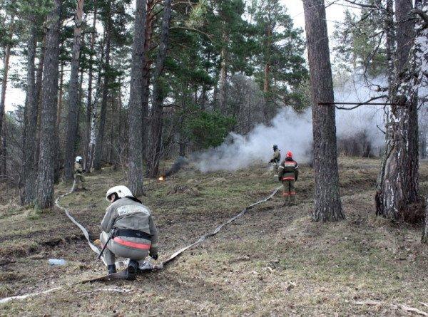 Губернатор Волгоградской области выехал на место пожаров, где есть угроза селам