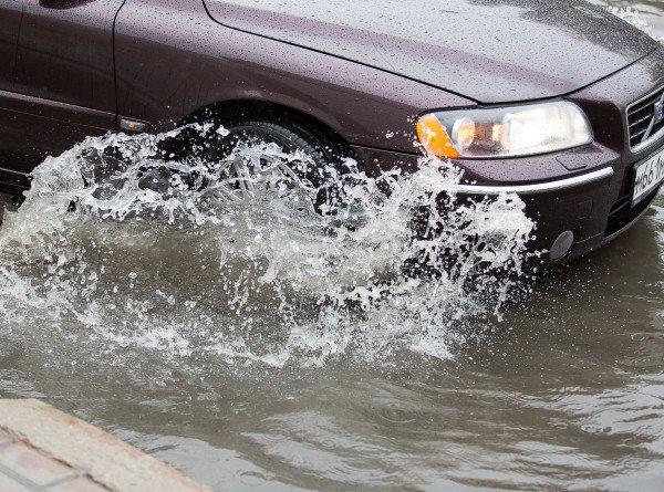 Паводки в Тыве: в республике из-за дождей размыло дороги