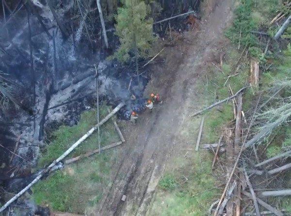 Лесные пожары в России: тайга горит в Сибири и на Дальнем Востоке
