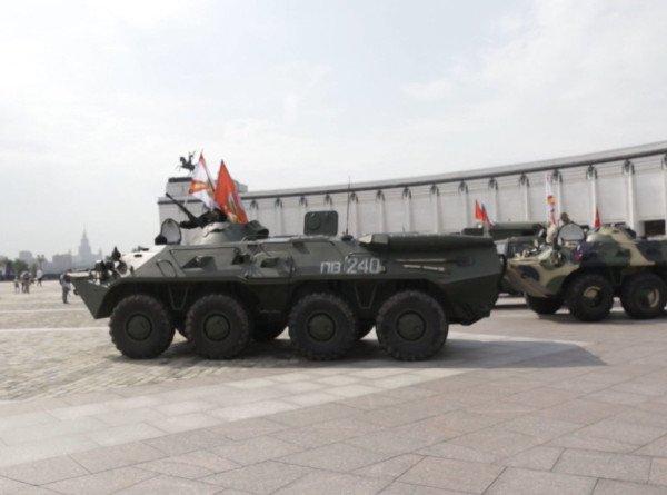 Бронепробег по «Дороге мужества»: колонна военной техники посетит места боевой славы