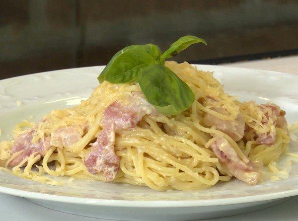 Итальянский ужин: как приготовить пасту «Карбонара»