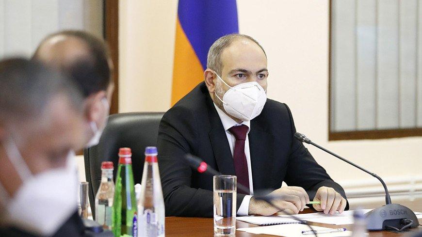 Пашинян: Армения продлит режим ЧП еще на месяц из-за ситуации с коронавирусом