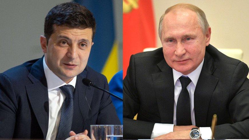 Путин и Зеленский по телефону обсудили Минские соглашения и коронавирус