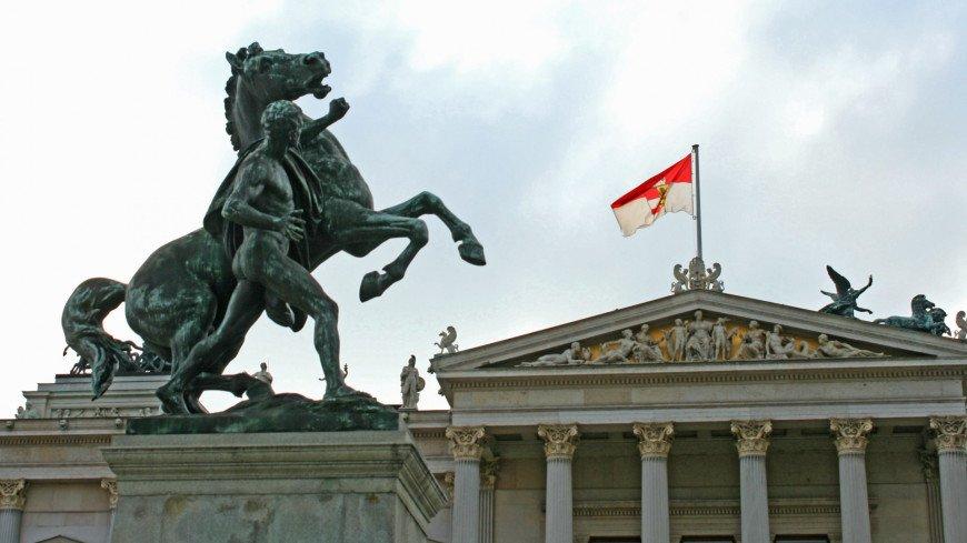 """Фото: Эльвира Ислямова (МТРК «Мир») """"«Мир 24»"""":http://mir24.tv/, парламент австрии, австрия, вена"""