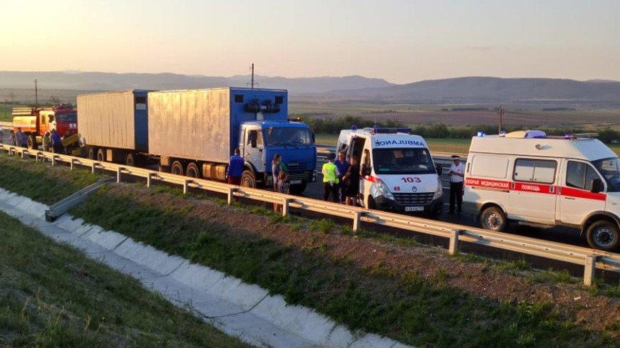 В Крыму задержан организатор перевозки микроавтобусом, который попал в ДТП