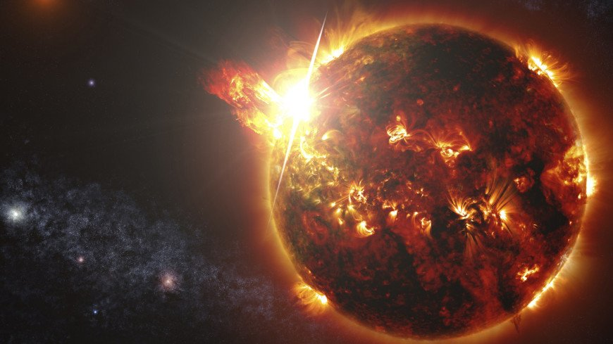 космос, планеты, вселенная, звезды, звезда, галактика, выброс корональной массы, солнце,