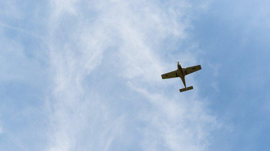 Легкомоторный самолет разбился под Курском: пилот погиб