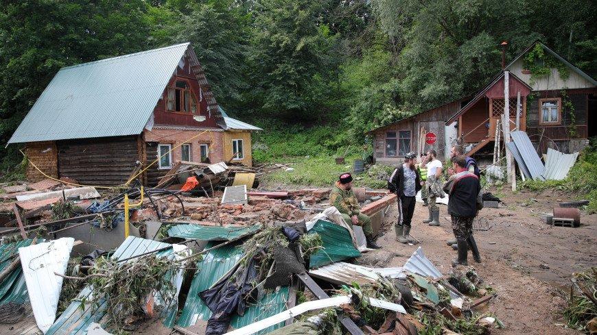 Воробьев о ЧП в Рузе: Всем, кто был эвакуирован, чьи дома пострадали, окажем помощь