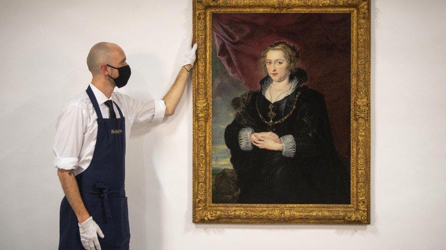 В Лондоне под слоем вековой пыли нашли картину Рубенса
