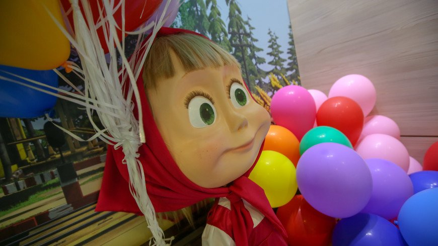 Мультфильм «Маша и Медведь» вошел в пятерку любимых детских шоу в мире