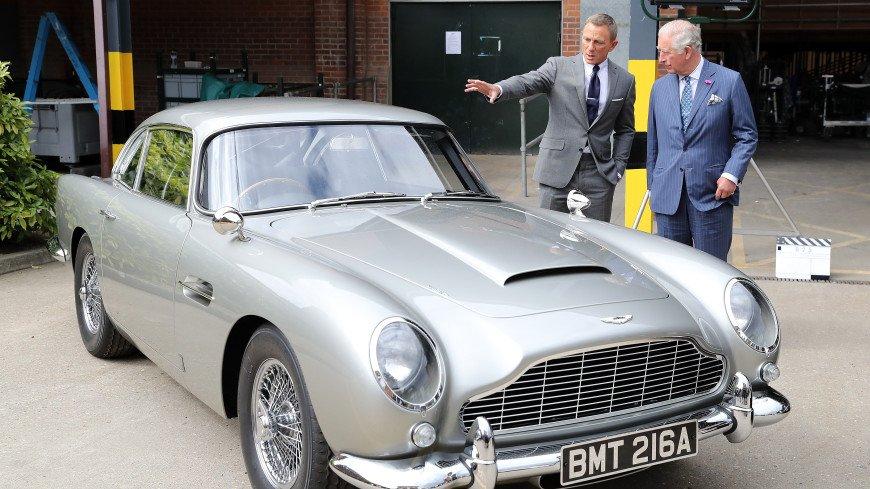 Компания Aston Martin выпустит копию DB5 из фильма о Джеймсе Бонде