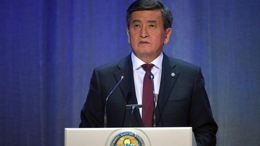 Жээнбеков: Важно защитить здоровье избирателей во время выборов в парламент Кыргызстана