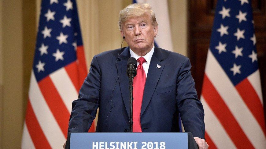 Совместная пресс-конференция Президента России Владимира Путина и Президента Соединённых Штатов Америки Дональда Трампа.