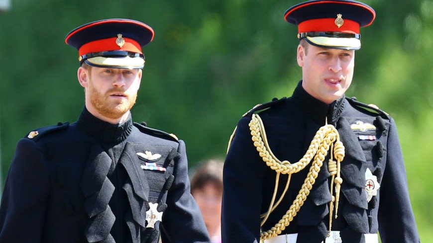 Принц Гарри и принц Уильям пошли на мировую