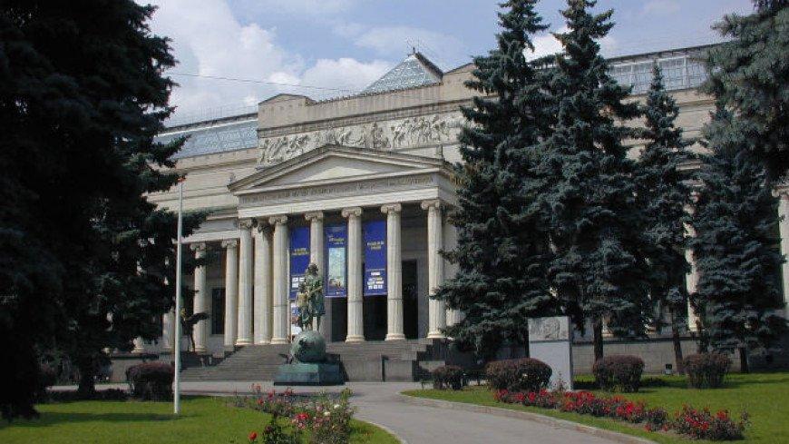 Министр культуры Любимова побывала на открытии Пушкинского музея в Москве